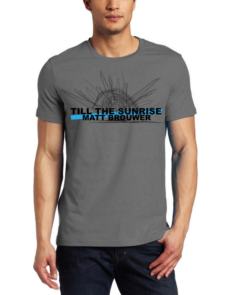 Till The Sunrise - T-Shirt (Scribble Sun)