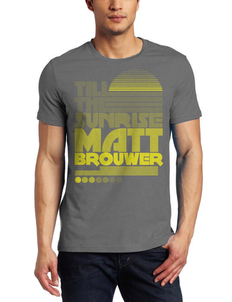 Till The Sunrise T-Shirt (Yellow Print)