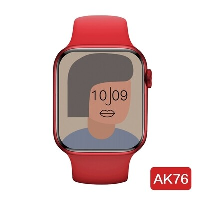 AK76 Smartwatch Series 6 with Temperature Monitor (RED)