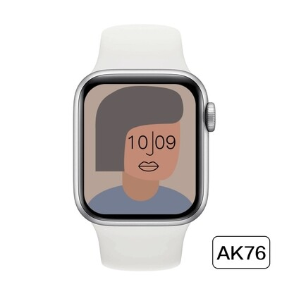 AK76 Smartwatch Series 6 with Temperature Monitor (WHITE)