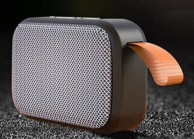 G2 Mini Portable HiFi Wireless Fabric Speaker - 3W (Gray)