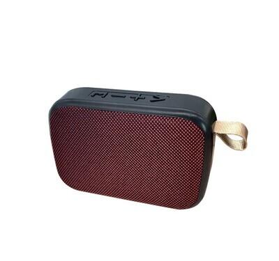 G2 Mini Portable HiFi Wireless Fabric Speaker - 3W (Red)