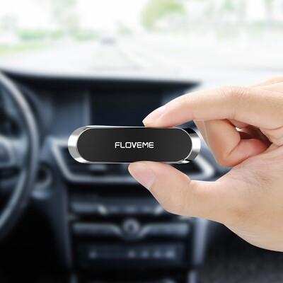Multifunctional Magnetic Phone Holder Floveme (Silver)