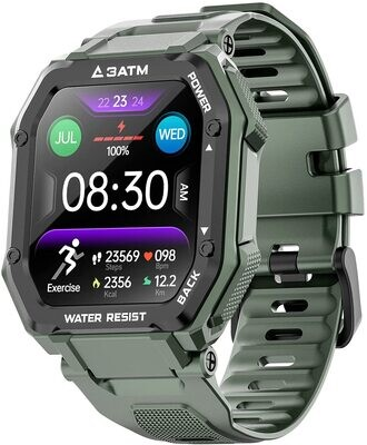 Sports Smartwatch Carkira 3ATM (Army Green)