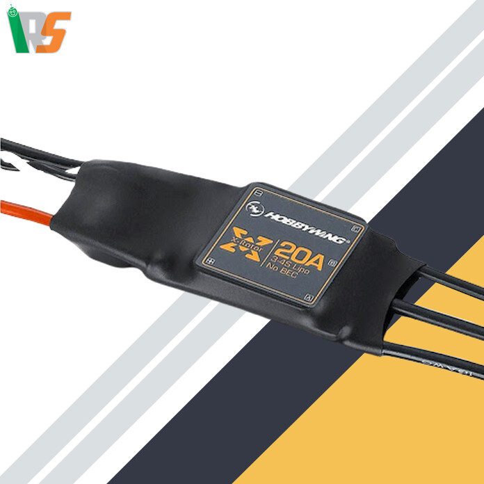 HOBBYWING XROTOR ESC 20A wire leaded