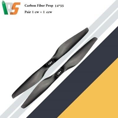 Carbon Fiber Prop 14*5.5 pair ( CW + CCW )