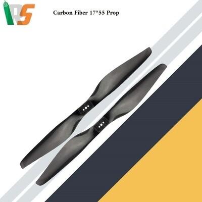 Carbon fiber propeller 17*5.5 Pair