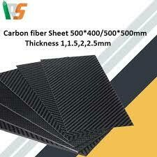 Carbon Fiber Sheet 400mm*500mm*2mm