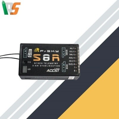 FrSky S8R receiver 8/16 channel
