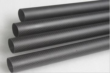 3K Carbon Fiber round tube 28mm(OD)×26mm(ID)×1000(L)mm