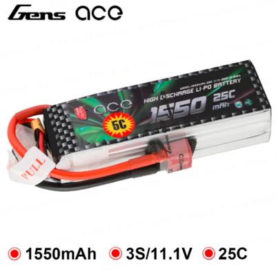 ACE 1550mAh 25C 11.1V 3S1P