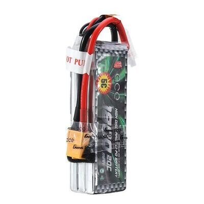 GENS ACE 1800mAh 20C 11.1V 3S1P Lipo Battery