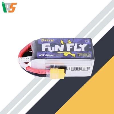 TATTU FUNFLY 1550mAh 100C 14.8V  4S1P