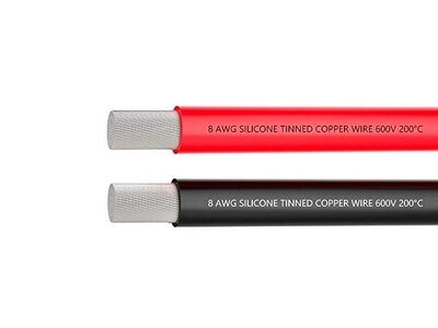 16AWG Silicone Wire red and Black