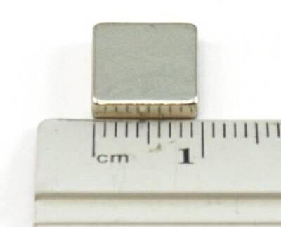10mmx10mmx5mm Neodymium Magnets pack of 10pc