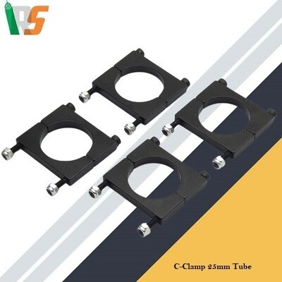 C-Clamp 25mm Tube  for Drones
