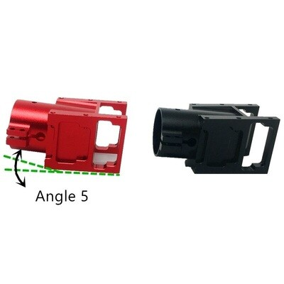 Angle 5 Alloy D30 mm Tube Clip Motor Mount for