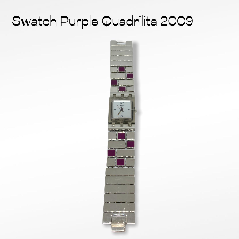 Swatch purple quadrilita 2009
