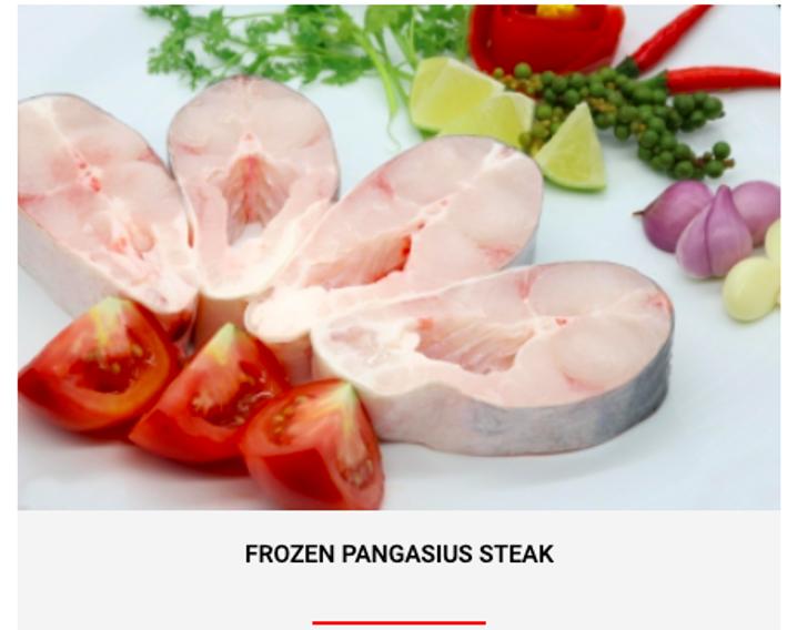 FROZEN PANGASIUS STEAK