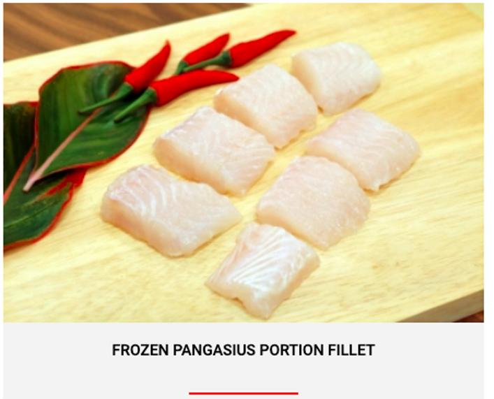 FROZEN PANGASIUS PORTION FILLET