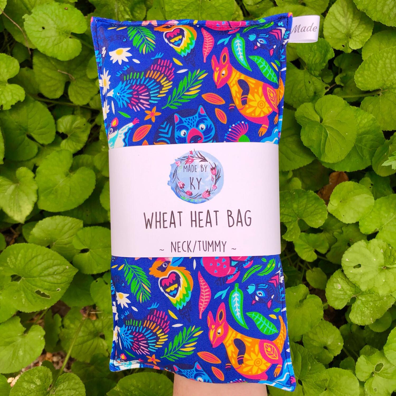 True Blue - Wheat Heat Bag - Regular Size