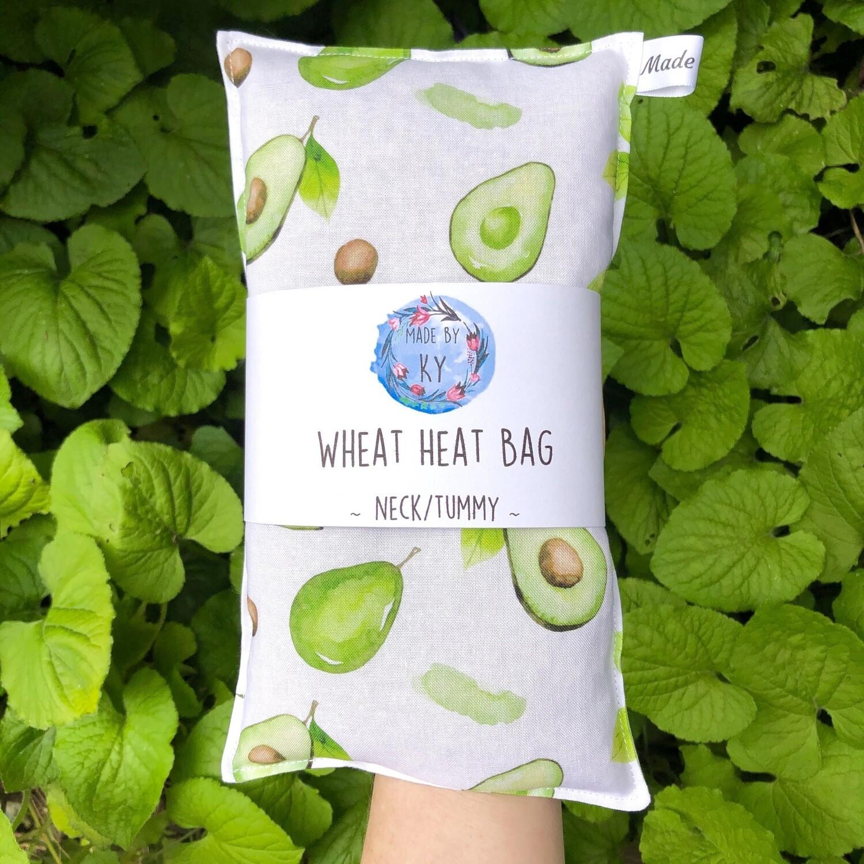 Avocados - Wheat Heat Bag - Regular Size
