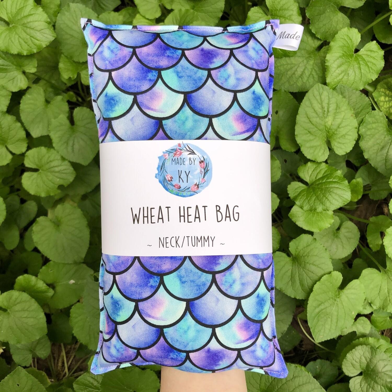 Magical Mermaid - Wheat Heat Bag - Regular Size