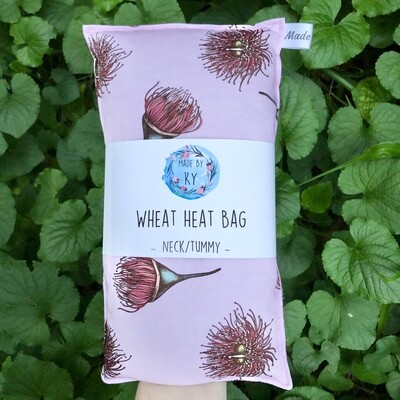 Flowering Gum - Wheat Heat Bag - Regular Size
