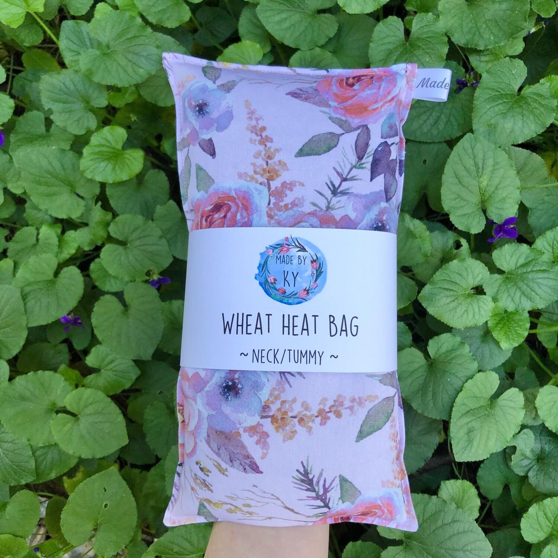 Blush Floral - Wheat Heat Bag - Regular Size
