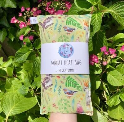 Aussie Bush Birds - Wheat Heat Bag - Regular Size