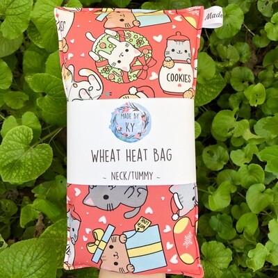 Christmas Kitties - Wheat Heat Bag - Regular Size