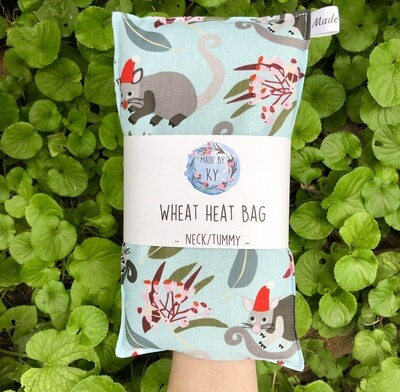 Christmas Possums - Wheat Heat Bag - Regular Size