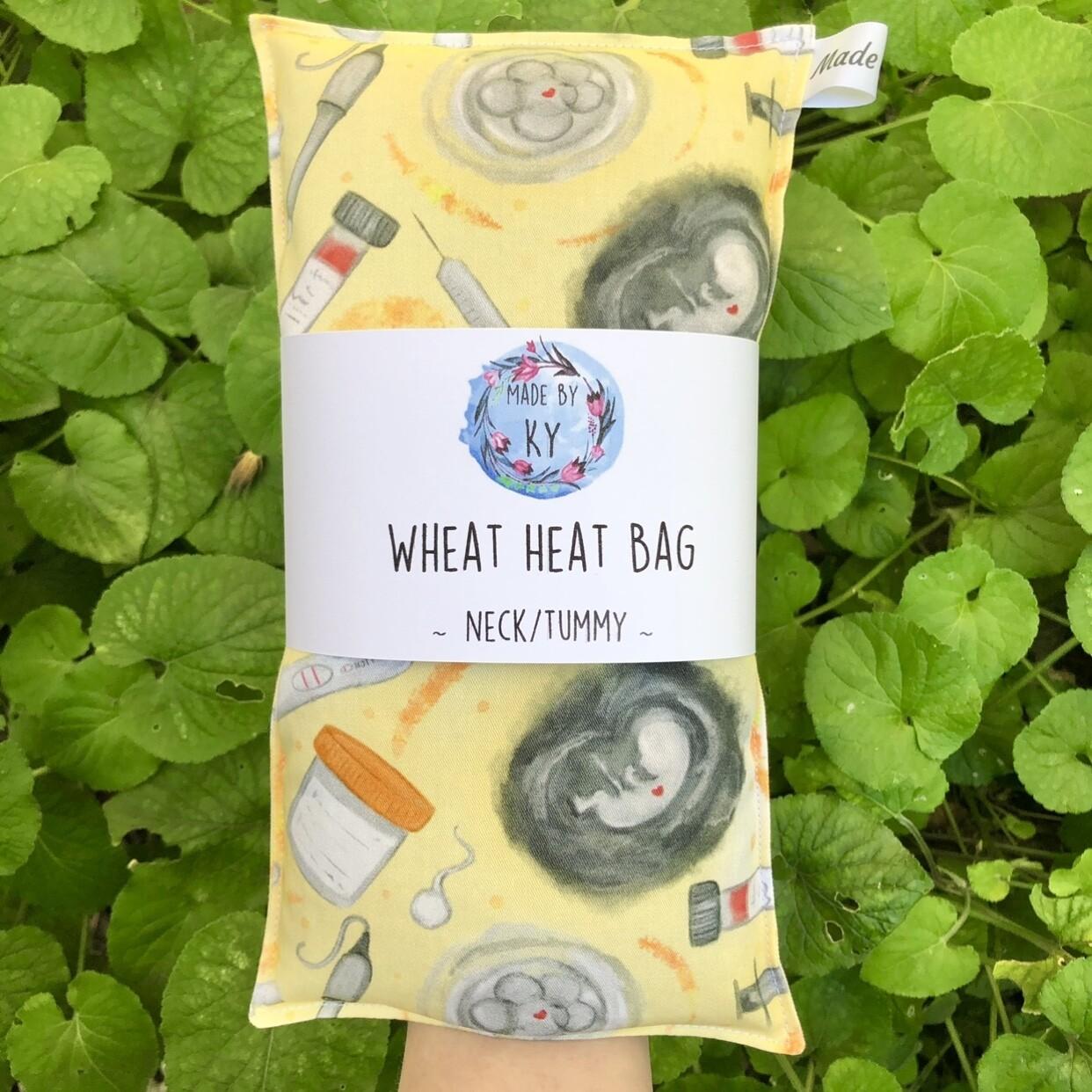 IVF Yellow - Wheat Heat Bag - Regular Size