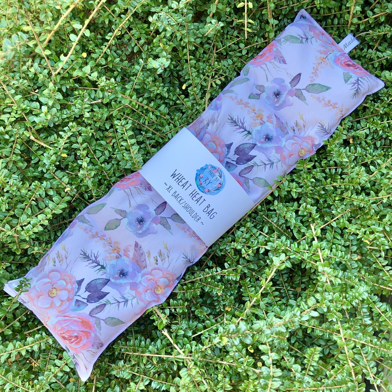 Blush Floral - Wheat Heat Bag - XL Size