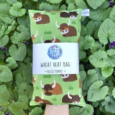Hairy Cows - Wheat Heat Bag - Regular Size