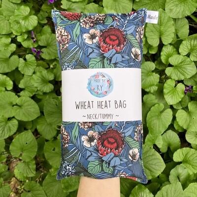Midnight Blooms - Wheat Heat Bag - Regular Size