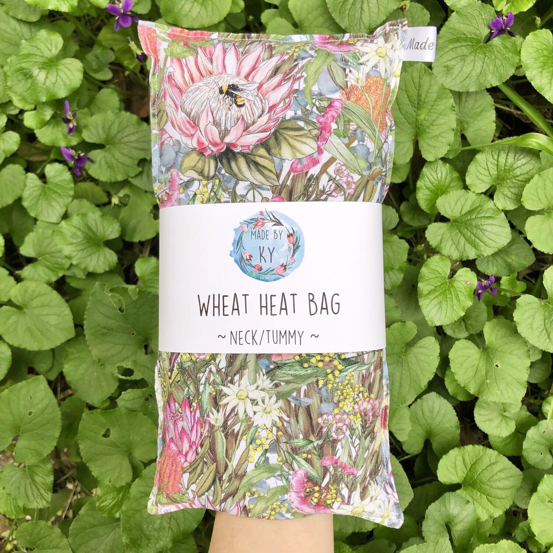 Botanical Garden - Wheat Heat Bag - Regular Size