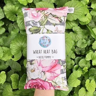 Beautiful Roses - Wheat Heat Bag - Regular Size