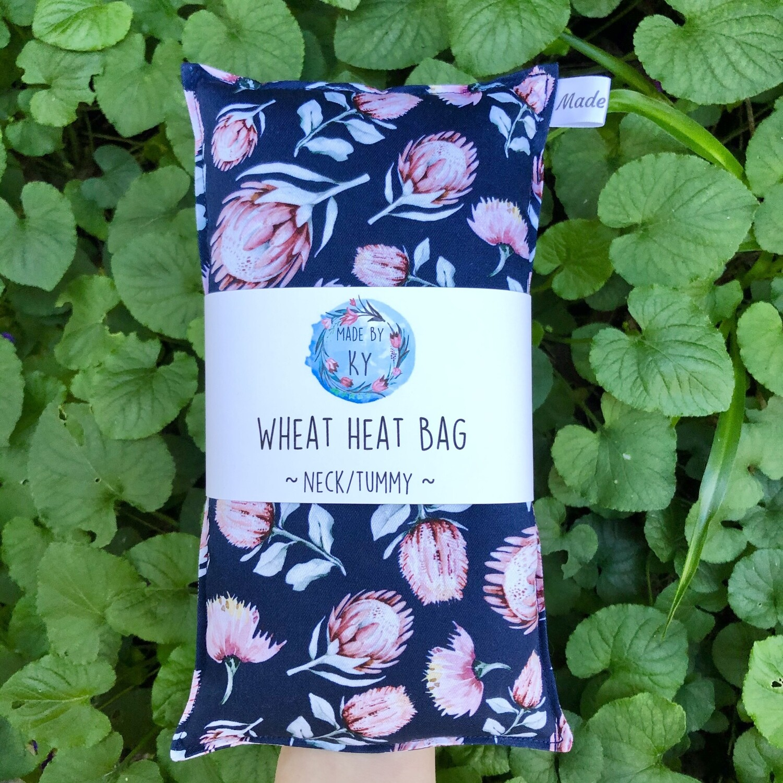 Vintage Proteas - Wheat Heat Bag - Regular Size