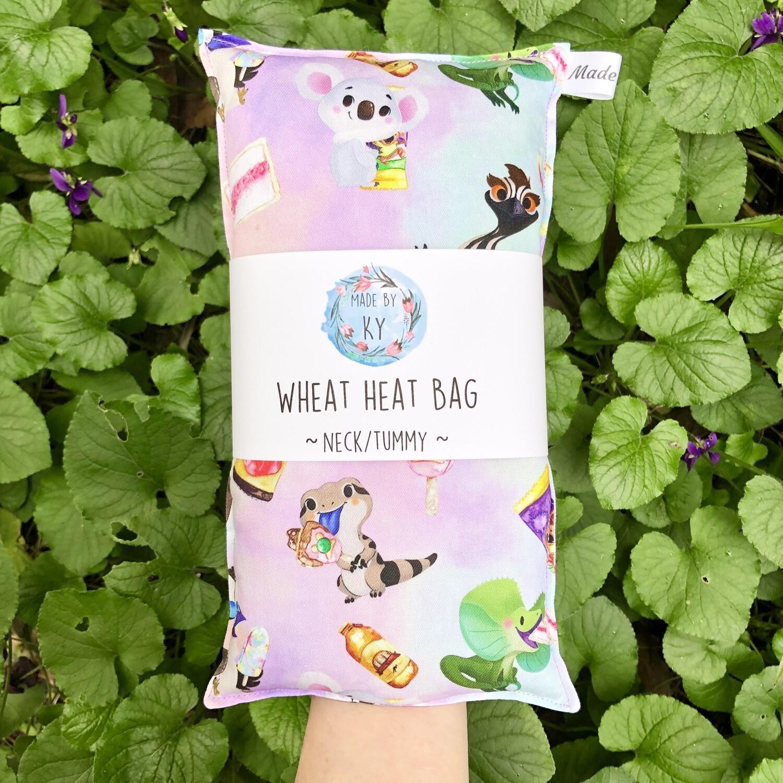 Aussie Critters & Snacks - Wheat Heat Bag - Regular Size