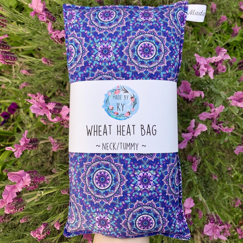 Mandalas - Wheat Heat Bag - Regular Size