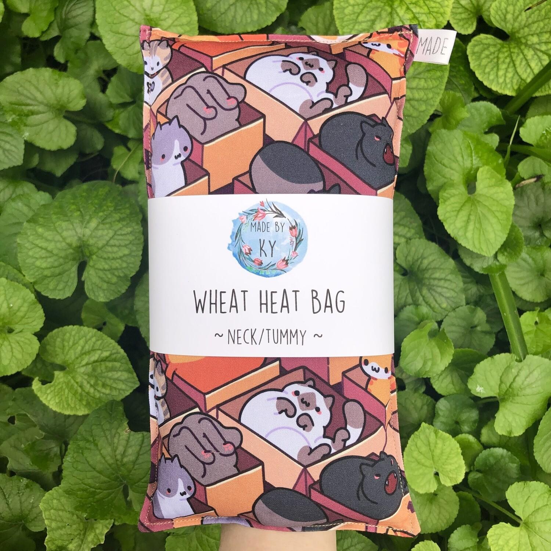 If I Fits I Sits - Wheat Heat Bag - Regular Size