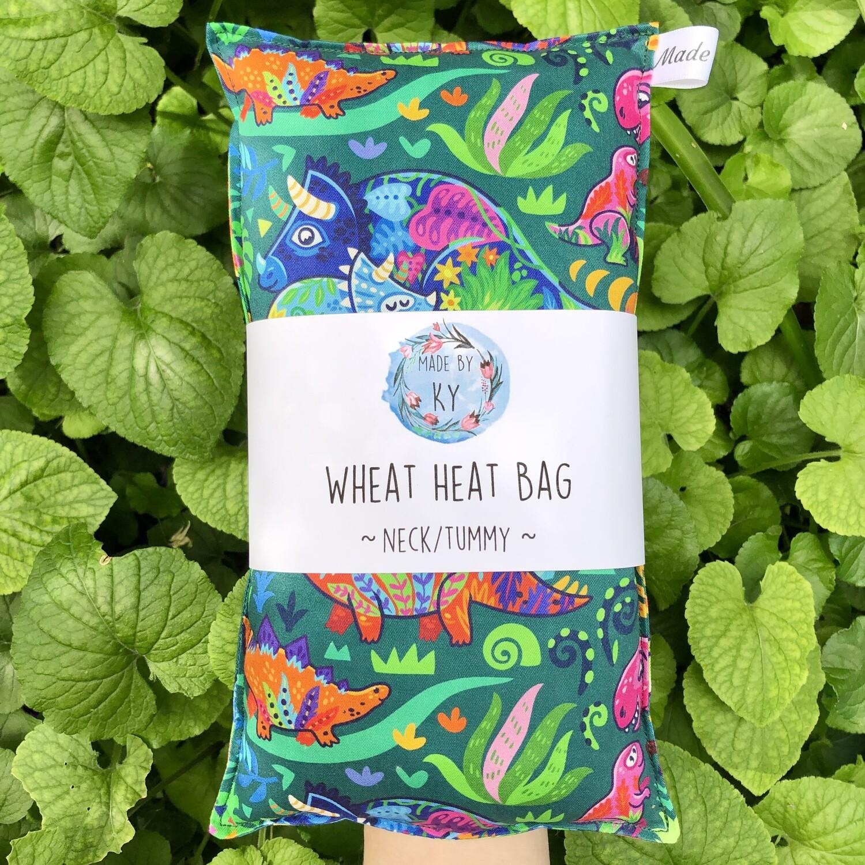 Dinos - Wheat Heat Bag - Regular Size