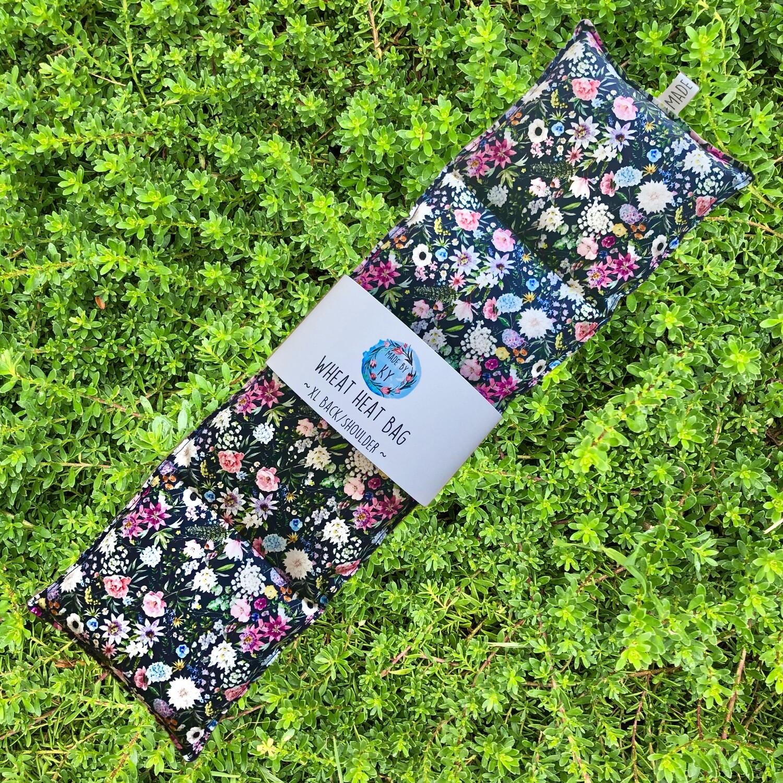 Wildflowers - Wheat Heat Bag - XL Size