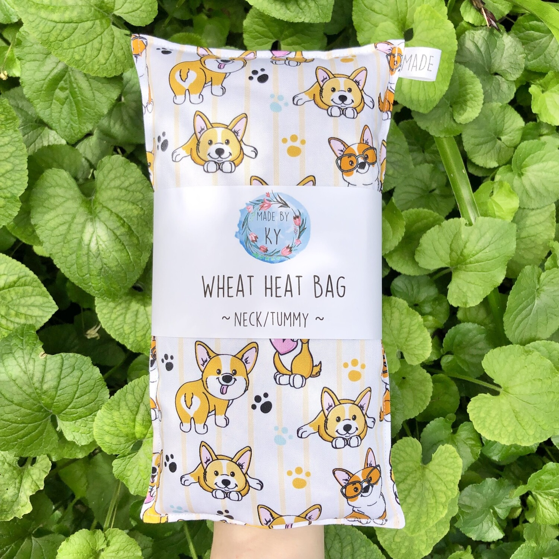 Corgi Cuties - Wheat Heat Bag - Regular Size