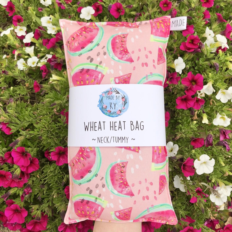 Watermelons - Wheat Heat Bag - Regular Size