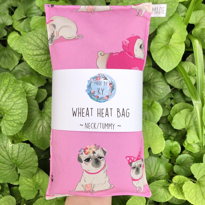 Princess Pug - Wheat Heat Bag - Regular Size