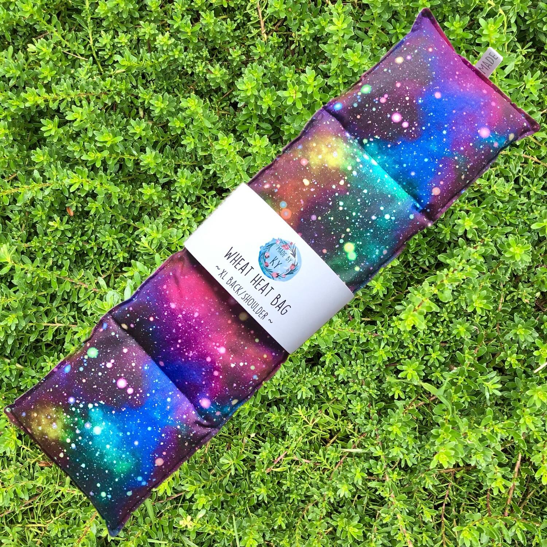 Magical Galaxy - Wheat Heat Bag - XL Size