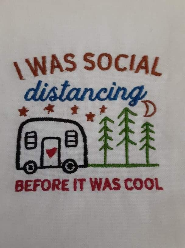 Camper Trailer Embroideries - click to see more
