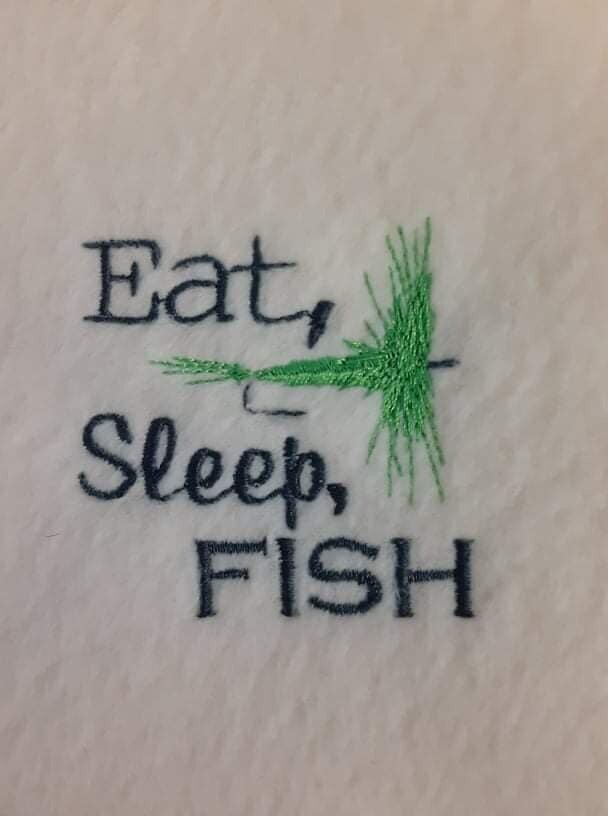 Fishing Embroideries - click to see more
